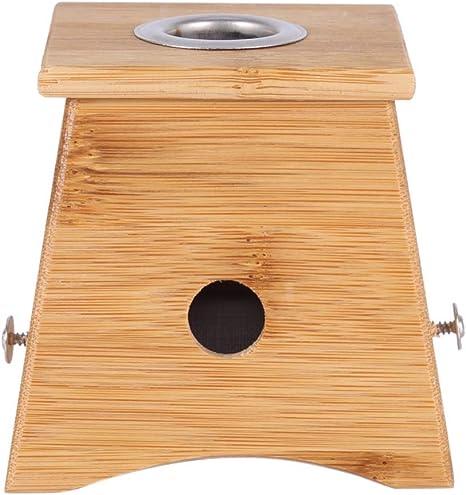 GW Bambú Moxa Caja de moxibustión Acupuntura Rodillo de relajación Soporte para el Brazo Cuello Brazo Cuerpo Acupuntura Masaje: Amazon.es: Deportes y aire libre