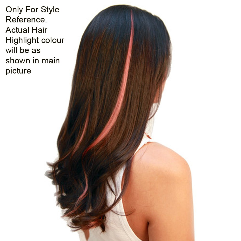 Via Mazzini Blonde Clip On Artificial Hair Highlight Extension For