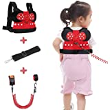 Lehoo Castle Toddler Leash for Walking, Toddler Safety Harnesses Leashes, Safety Harness for Kids, Anti Lost Wrist Link Safety Wrist Link for Toddlers
