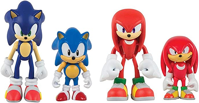 Amazon Com Sonic Boom Classic Sonic Figure And Original Comic Character And Comic At Random T22529a Toys Games