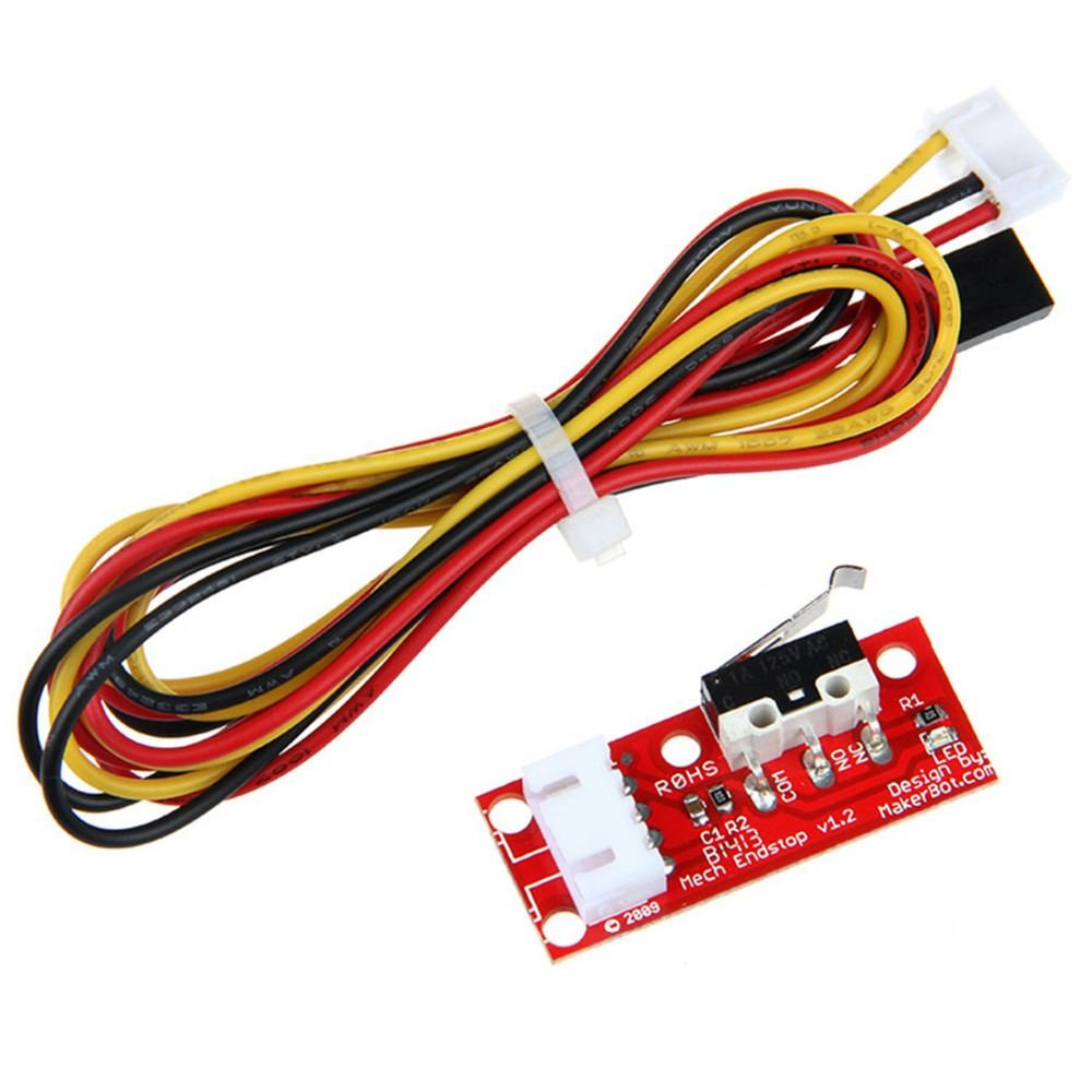 Semoic 3D Printer Endstop Mechanical Endstop Switch Module V1.2 for RepRap Ramps 1.4 with Cables Limit Switch