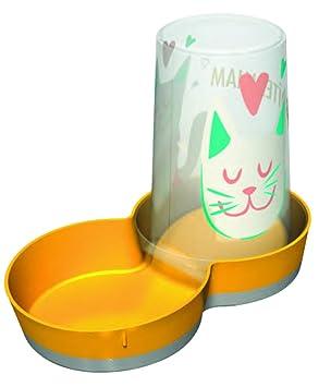 VITAKRAFT - Dispensador de Agua y Alimentos para Gatos (1,5 L): Amazon.es: Productos para mascotas