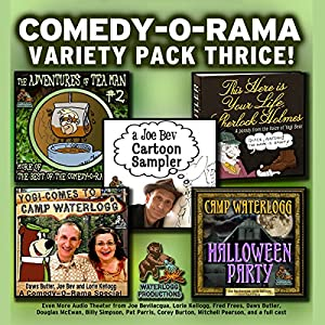 Comedy-O-Rama Variety Pack Thrice Audiobook