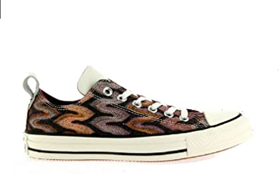 e2481552fe70fb Image Unavailable. Image not available for. Color  Converse Missoni Ctas Ox  Auburn and Egret Men s Size 10.5 Women s ...