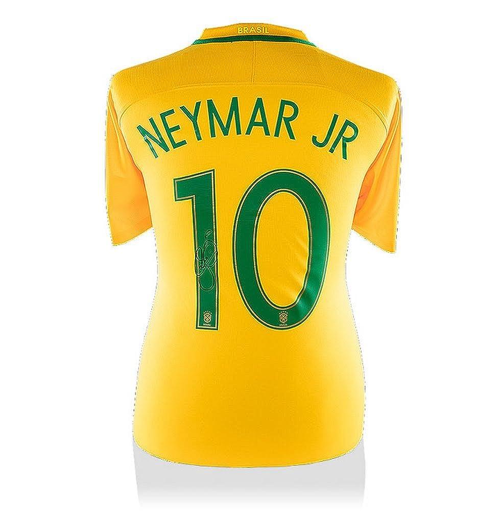 Jr Signiertes Brasilien Home Trikot 2016 Offizielle