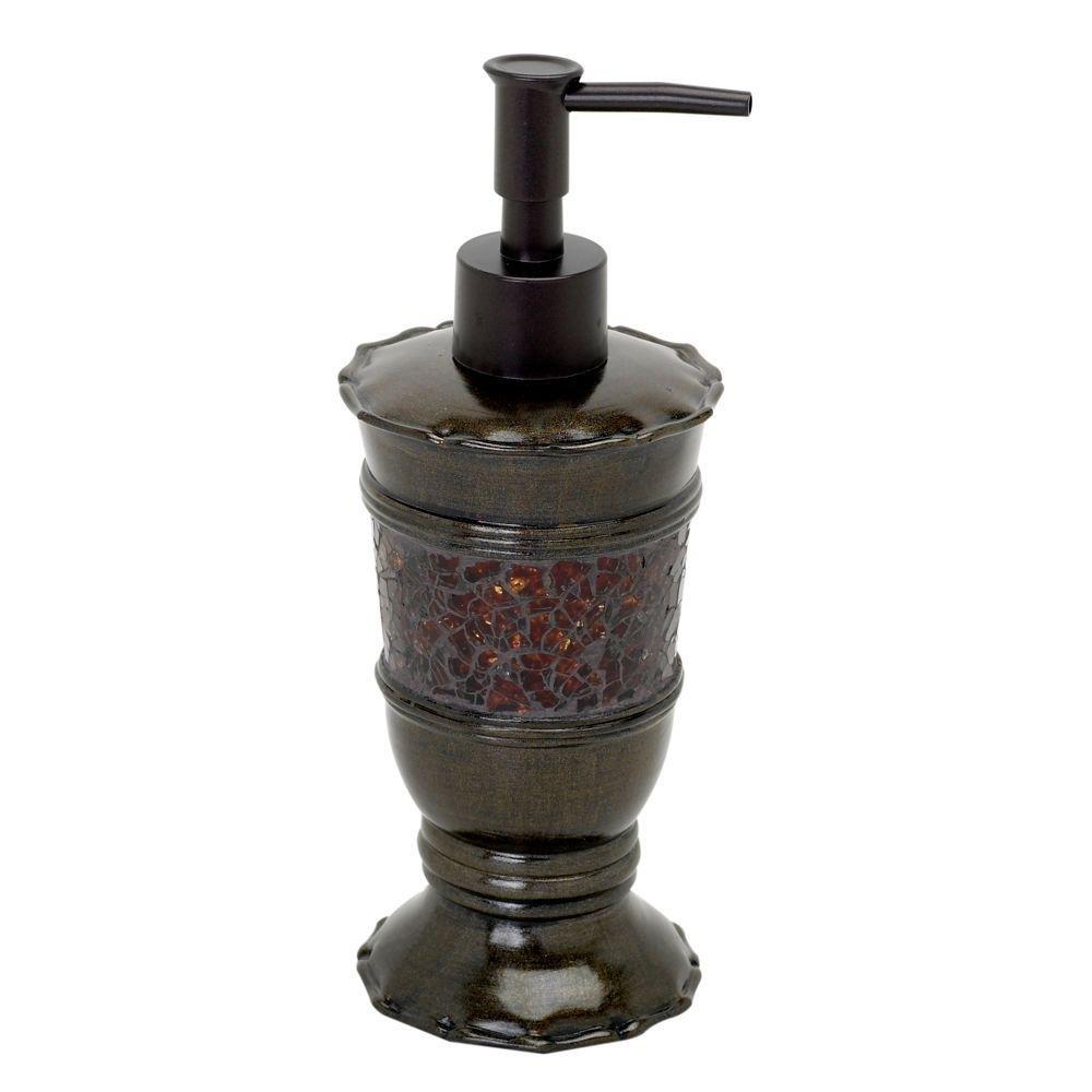 Zenna Home India Ink Prescott Lotion or Soap Dispenser, Bronze