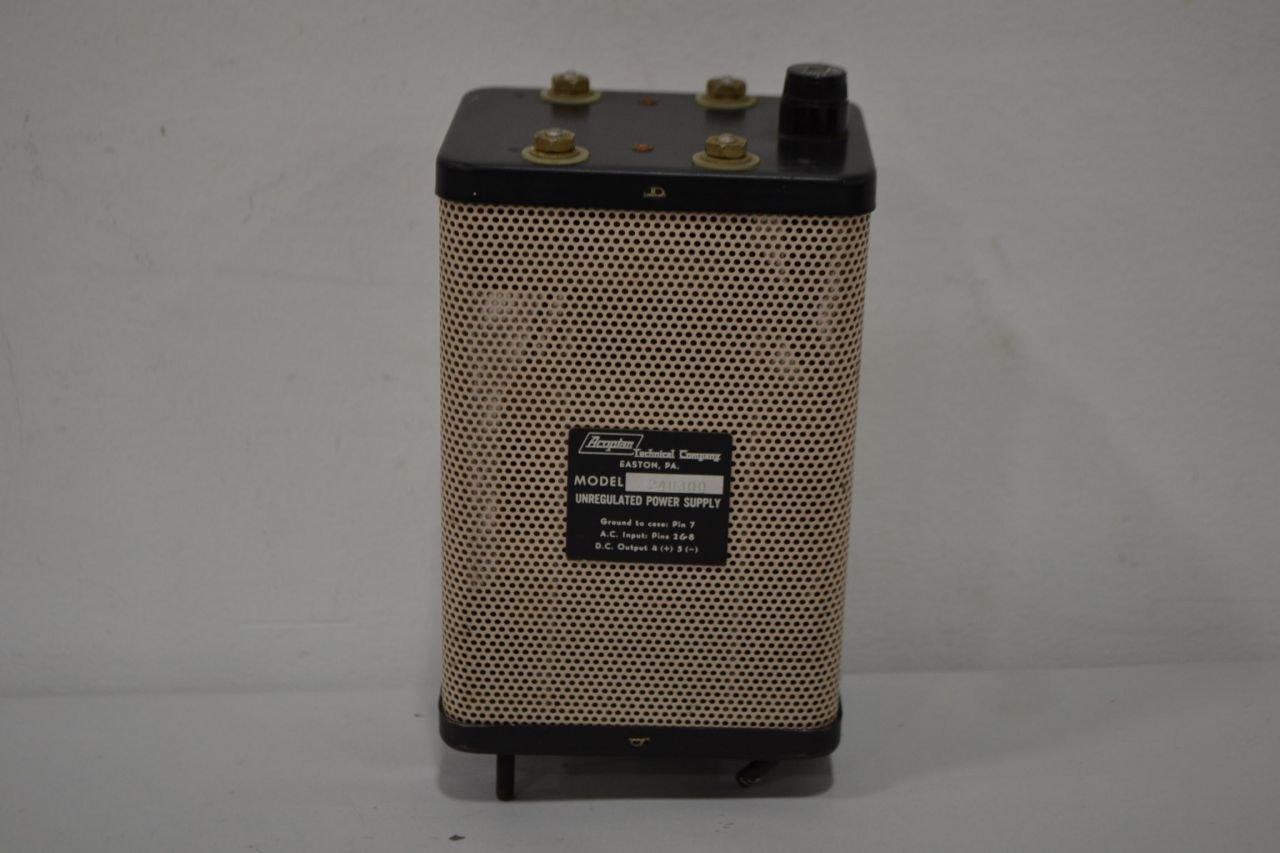 Acopian 24u300 Unregulated Power Supply T13212 Unregulator Industrial Scientific