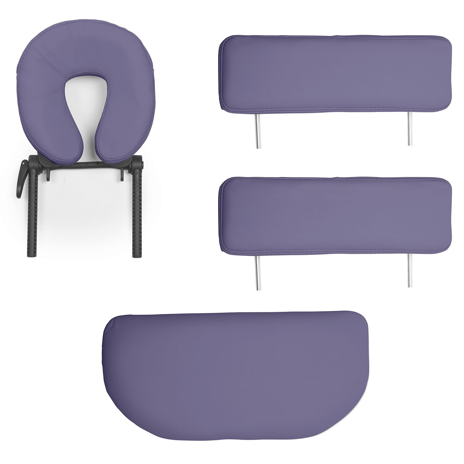 Saloniture Professional Portable Folding Massage Table with Carrying Case - Lavender by Saloniture (Image #4)