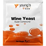 Youngs Super Vin Levure composé 7g - treats 5L / 1 Gallon