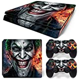 Joker PS4 Slim Vinyl Skin Decal Cover for Sony PlayStation 4 Slim PS4 Console Sticker