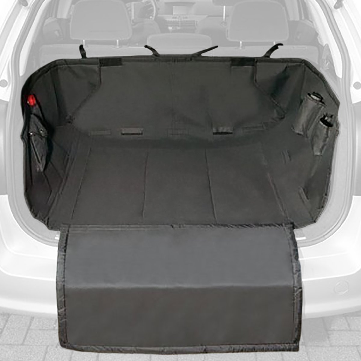 protection de coffre voiture pour transport chien chat. Black Bedroom Furniture Sets. Home Design Ideas