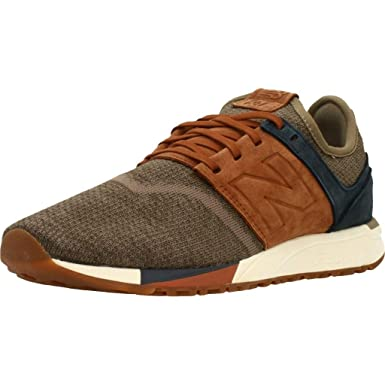 ac065b3c889c New Balance MRL247, LB Brown-Maroon, 14: Amazon.fr: Chaussures et Sacs