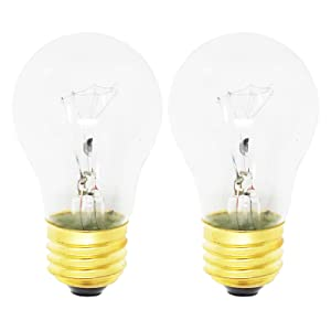 2-Pack Replacement Light Bulb for Kenmore/Sears 79046783902 Range/Oven - Compatible Kenmore/Sears 316538901 Light Bulb