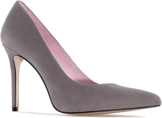 Andres Machado.Diana.Zapato Tac/ón de Piel de Mujer.Tallas Peque/ñas y Grandes 32-35//42-45.Made IN Spain