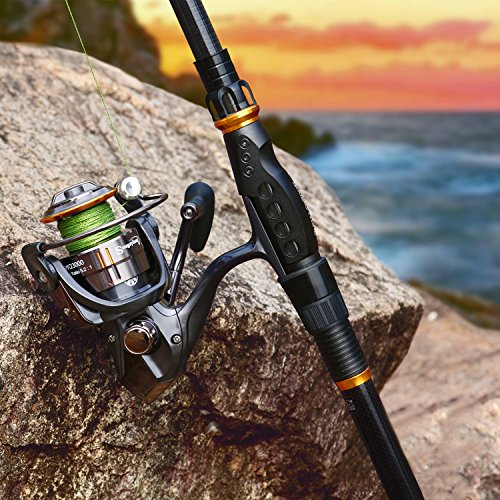 Mini Spinning Fishing Rod and Reel Combos Portable Pocket ...