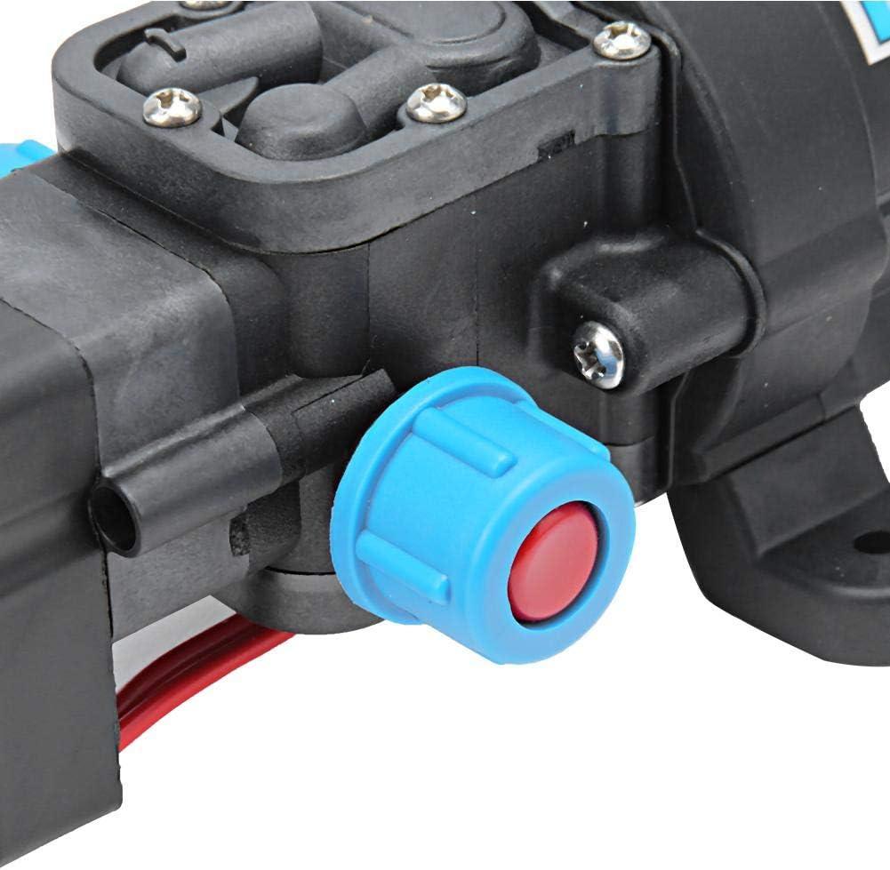 Jadeshay Pompe /à Eau Portable de Transfert Pompe /à Eau /électrique /à Haute Pression Micro-diaphragme /électrique DC 12V 80W