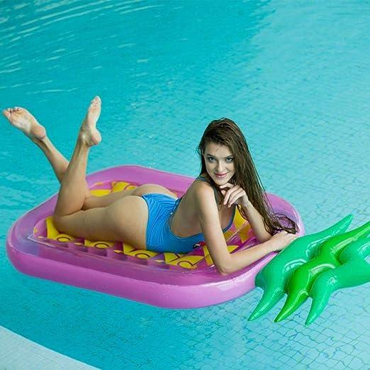 Aomerrt 150cm Anillo de natación Inflable de limón Flotador de ...