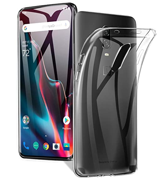 AVIDET Oneplus 7 Pro Case, Crystal Clear Soft Thin Anti-Scratches Cover for  Oneplus 7 Pro(Transparent)