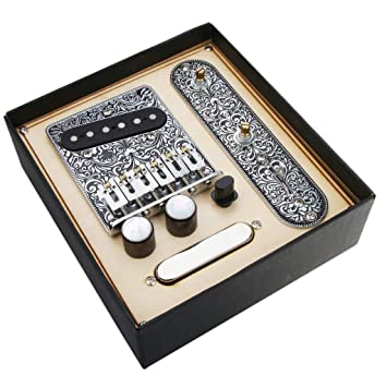 Bridge Plate Electric Guitar Prewired Control Plate For Musical