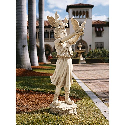 Cheap Design Toscano The Doves of St. Mark's Square Sculpture