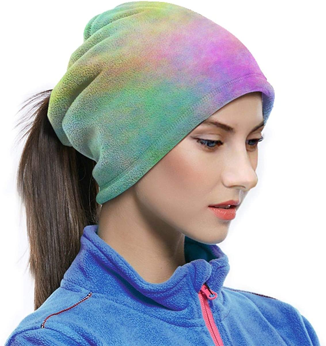 Pastel Rainbow Tie Dye Winter Neck Warmer Gaiter//Balaclava Ski Face Mask Cover Neck Gaiter Tube Ear Warmer Headband /& Face Mask Hats Headwear for Cold Weather Winter Outdoor Sports