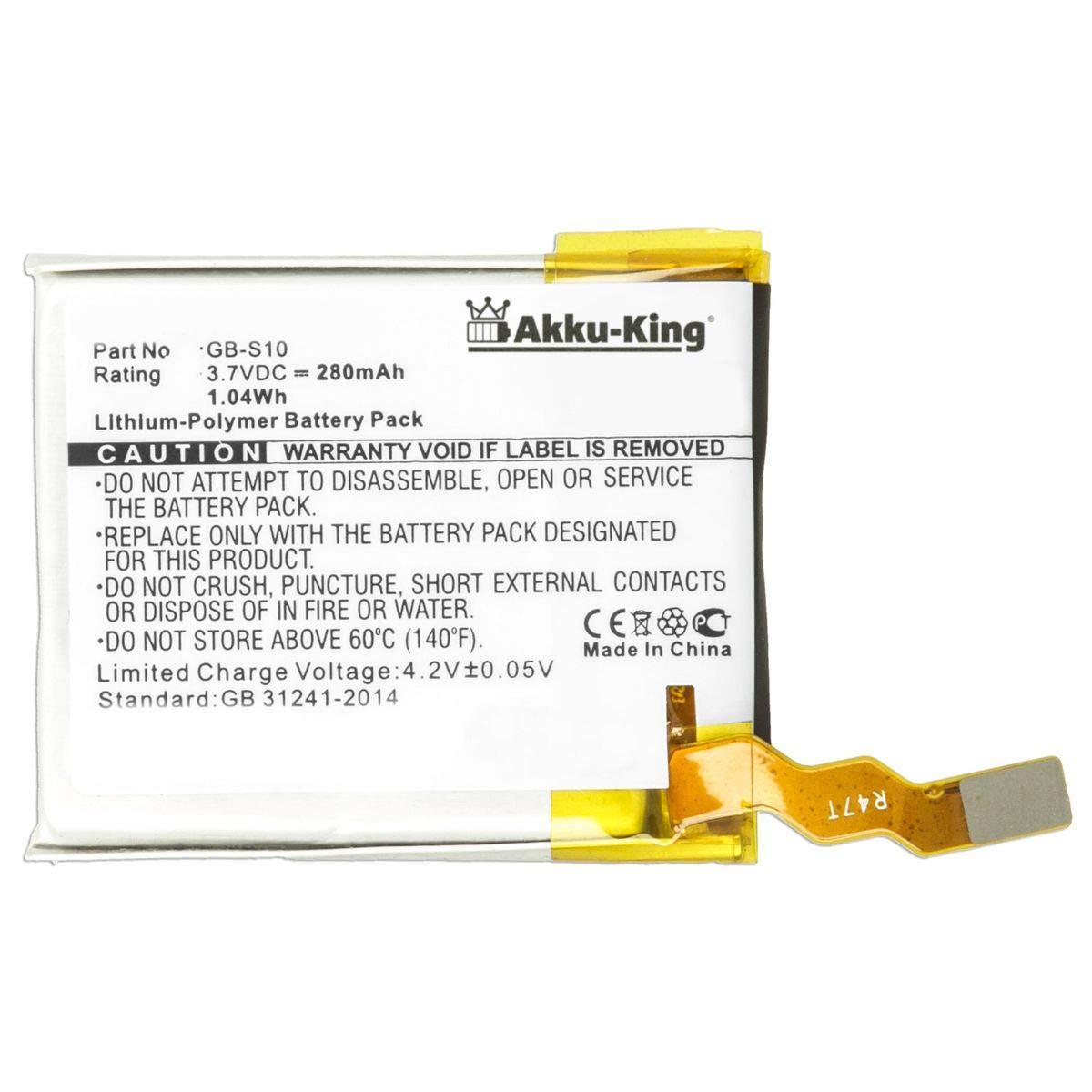 Akku-King - Batería para Sony GB-S10, GB-S10-353235-0100 ...