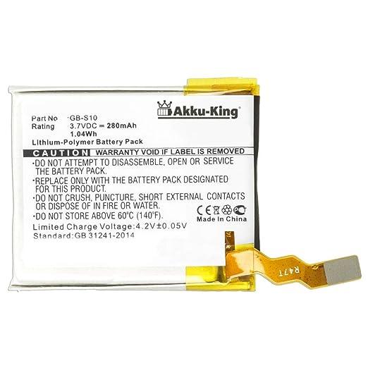 Akku-King - Batería para Sony GB-S10, GB-S10-353235-0100 (polímero ...