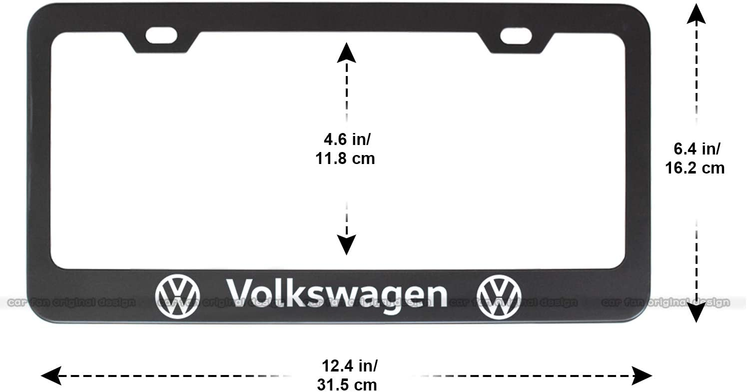 Jeep 2-Pieces Car License Plate Frames for Jeep,Strong and Sturdy Applicable to US Standard car License Frame