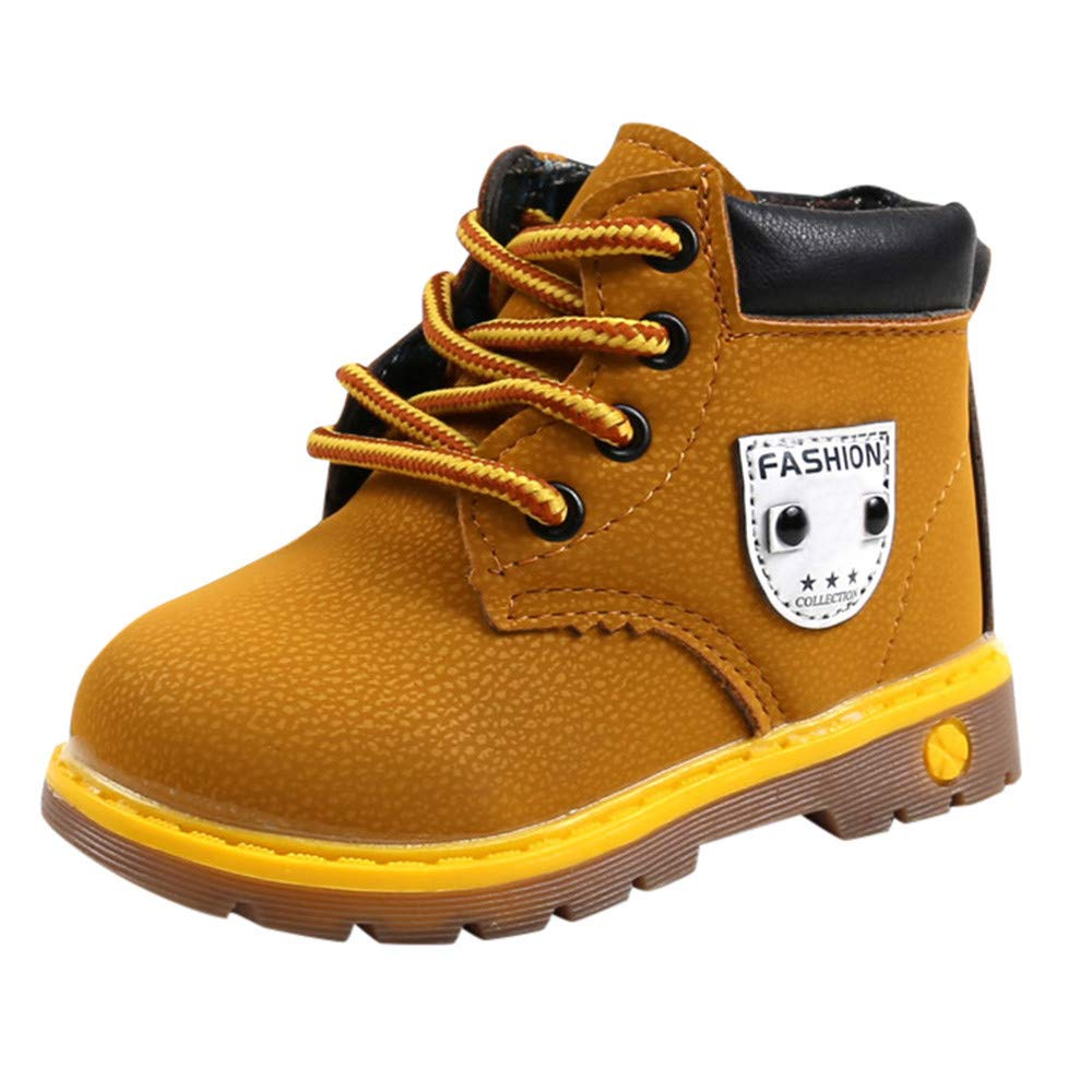Amazon.com: CYCTECH Unisex Baby Fashion Martin Boots, Children Casual Martin Sneaker Kids Autumn Winter Warm Shoes: Shoes