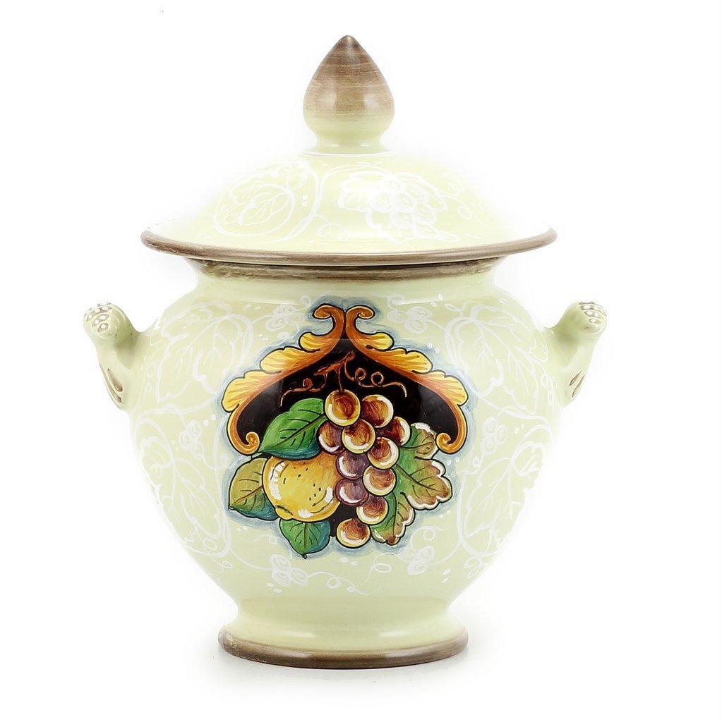 MACRAME: Round Tureen with ornamental handles