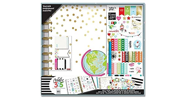 Create 365 - Kit de agenda The Happy Planner, edición grande ...