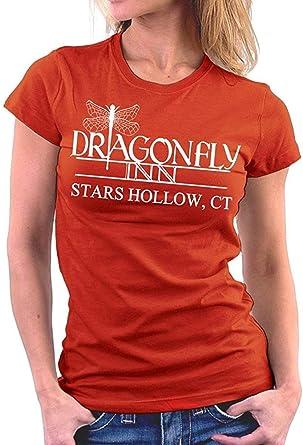 KLING Camiseta básica con Cuello Redondo para Mujeres Gilmore Girls Dragonfly Inn, 6XL: Amazon.es: Ropa y accesorios
