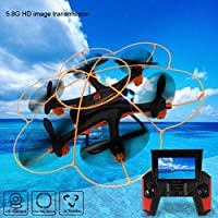 Lucoo Wltoy Q383 2.4Ghz 5.8G FPV RC Quadcopter Drone With 2MP Camera Monitor Display