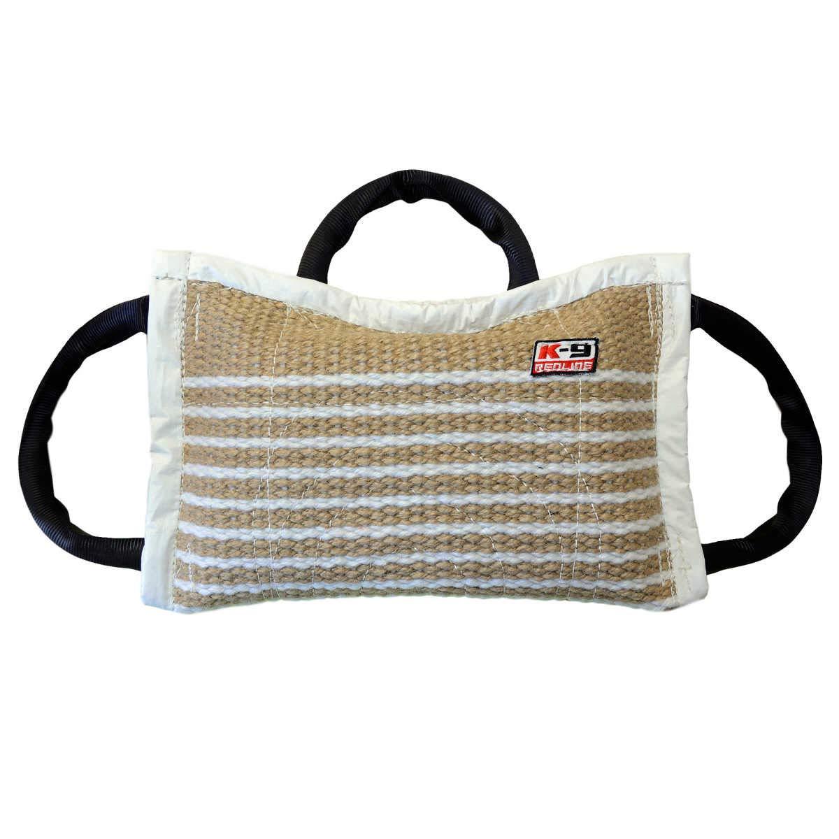 Redline K9 3 Handle Jute Bite Pillow/Gusset Firm 15'' X 9.5'' by REDLINE K-9