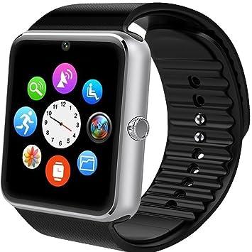 Reloj Inteligente Willful smartwatch Android Fitness Tracker con Ranura para SIM, Reloj Deportivo con Podómetro, Sueño, Calorías Samsung Sony Huawei ...