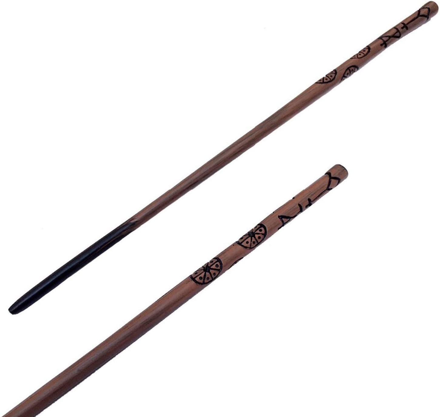 Movie Set GJYJJKRY Mental Core Cedric Diggory Magic Wand,36Cm Wand With Replica Ollivanders Wand Box Halloween And Christmas Props Movie Props Wands