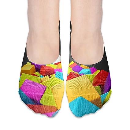 Colorful Ballet Nonslip Summer Loafer Cotton Boat Socks Women Low Cut
