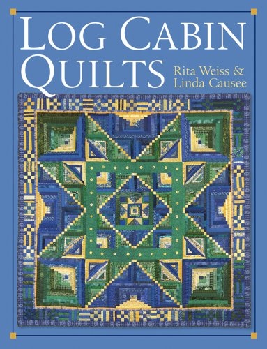 Book Log Cabin Quilt (Log Cabin Quilts)