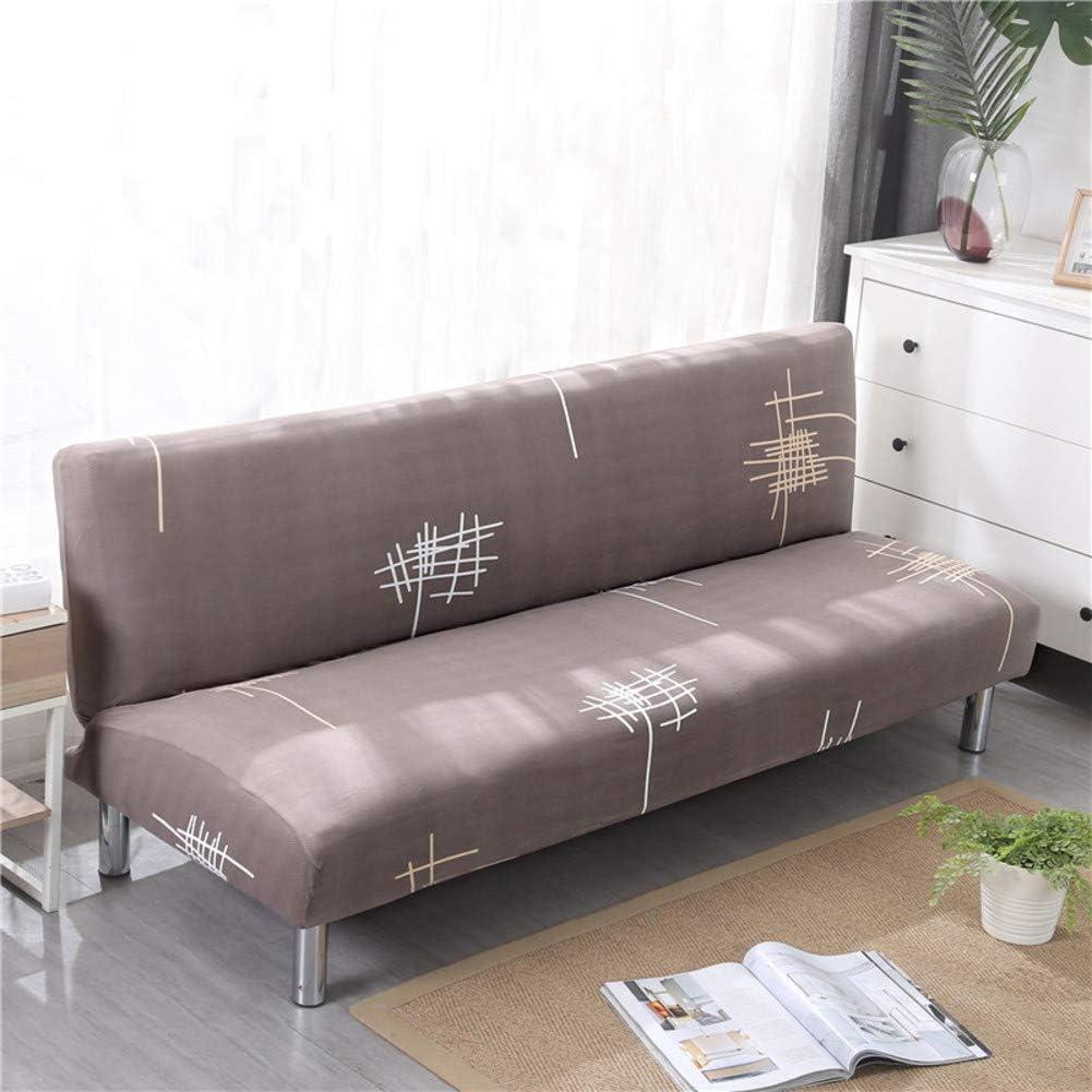 SAsagi Not-Slip Durable Sofa Cover,dust-Proof Elastic Printed Sofa Slipcover Easy Install Furniture Cover Living Room Pet Children Furniture Protector-r 120-150cm (47-59in)