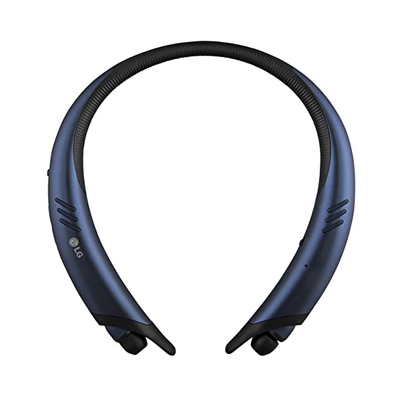 LG Tone Active+ HBS-A100 Stereo Bluetooth Headset (Certified Refurbished) (Blue)