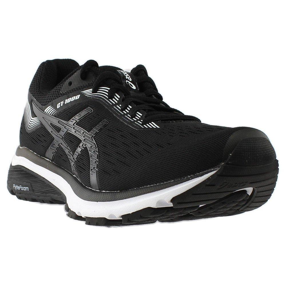 ASICS Women's GT-1000 7 (D) Running Shoe B079SDZ2HX 7 M US|Black/White