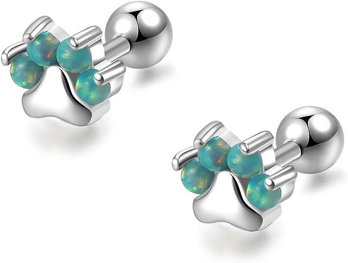 Dog Bone Earrings Jewelry Silver And Gold Handmade Dog Earrings OP2-SE