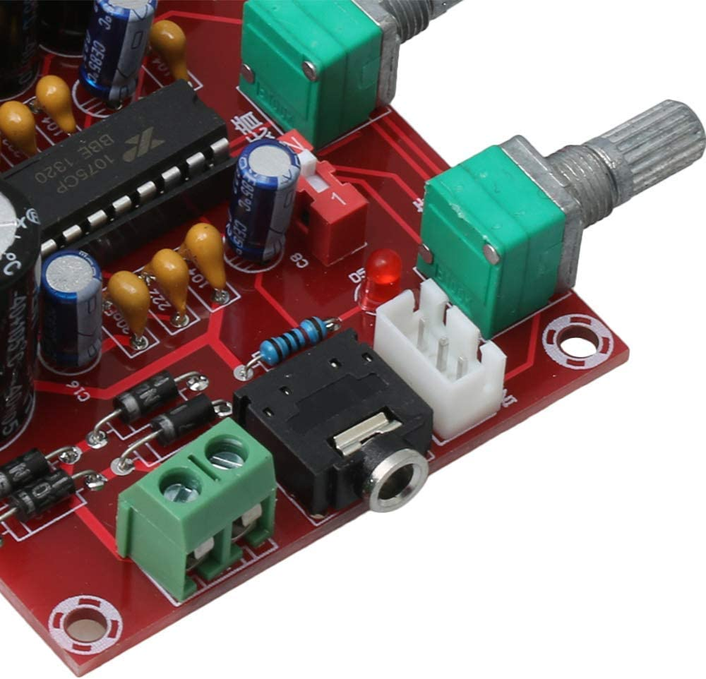 ARCELI XH-M151 XR1075 DC//AC12V BBE Preamp Tone Board with Mounting Parts