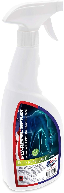 Equine America - Repelente antimoscas picadoras para caballos (750 ml)
