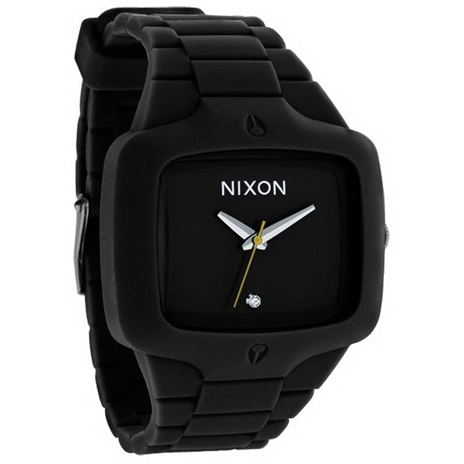 amazon com nixon the rubber player men s watch a139 000 nixon amazon com nixon the rubber player men s watch a139 000 nixon watches