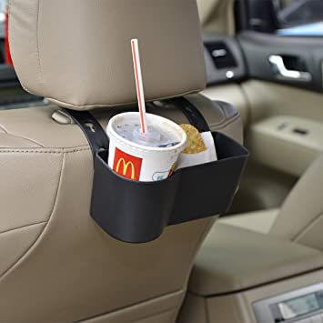 Faguan Car Headrest Seat Back Organizer Cup Holder Drink Pocket Food Tray Universal Liberate Your Hands