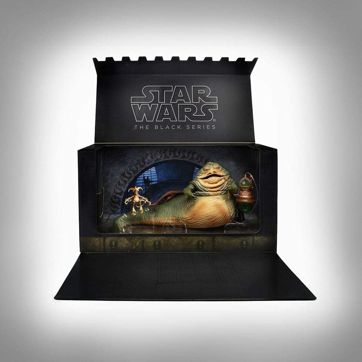 Star Wars Jabba the Hutt & Salacious Crumb Figure 2014 Comic Con SDCC Exclusive