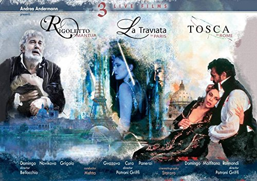 Verdi: La traviata / Rigoletto / Tosca (3PC)