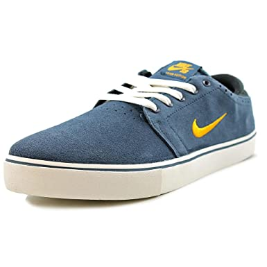 f54a8b630d10 Image Unavailable. Image not available for. Colour  Nike SB Team Edition Squadron  Blue Midas Gold-Sail Skate Shoes ...