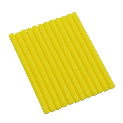 """GlueSticksDirect Peach Colored Glue Sticks mini X 4/"""" 12 sticks"""